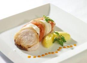 pesce spada al forno con mozzarella e pomodoro