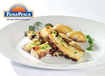 RICETTE PANAPESCA: polpo brasato con patate
