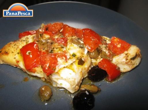 RICETTE PANAPESCA: verdesca con pomodorini