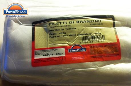 RICETTE PANAPESCA: branzino surgelato
