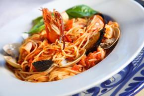spaghetti allo scoglio pesce surgelato